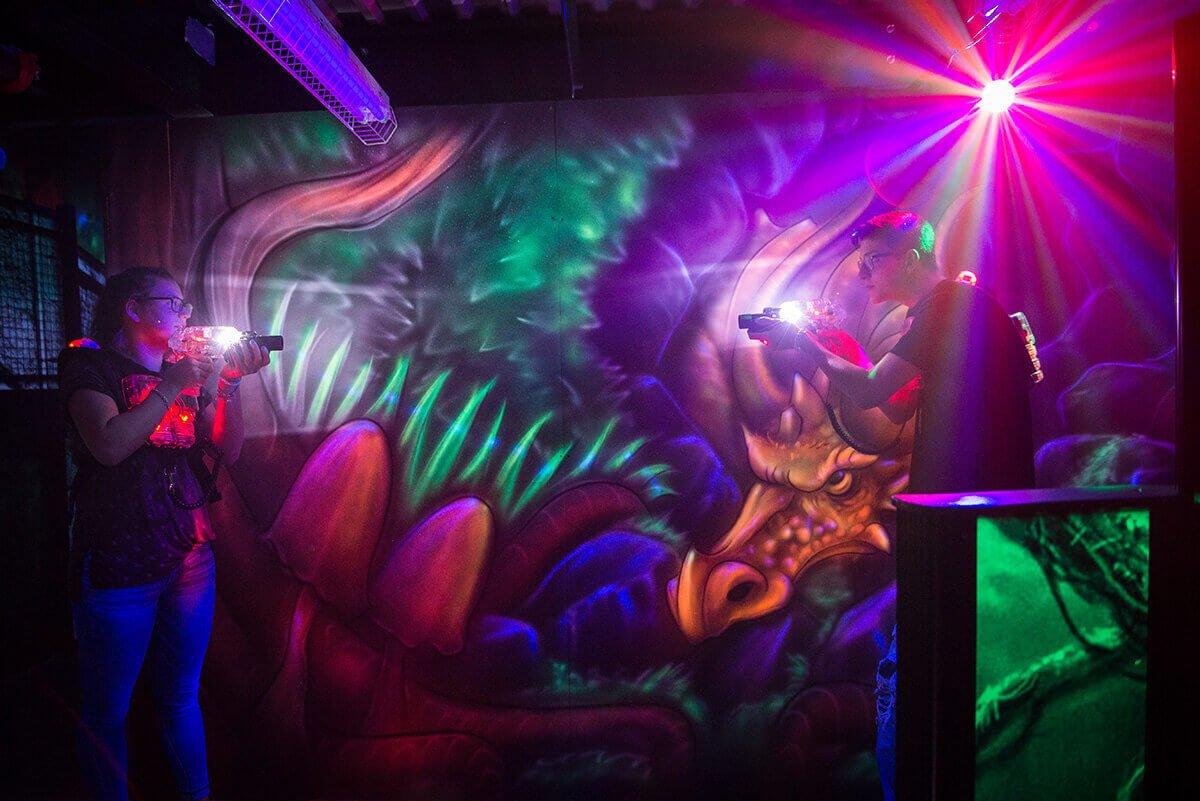 Laserforce Kids Kingdom Orleans