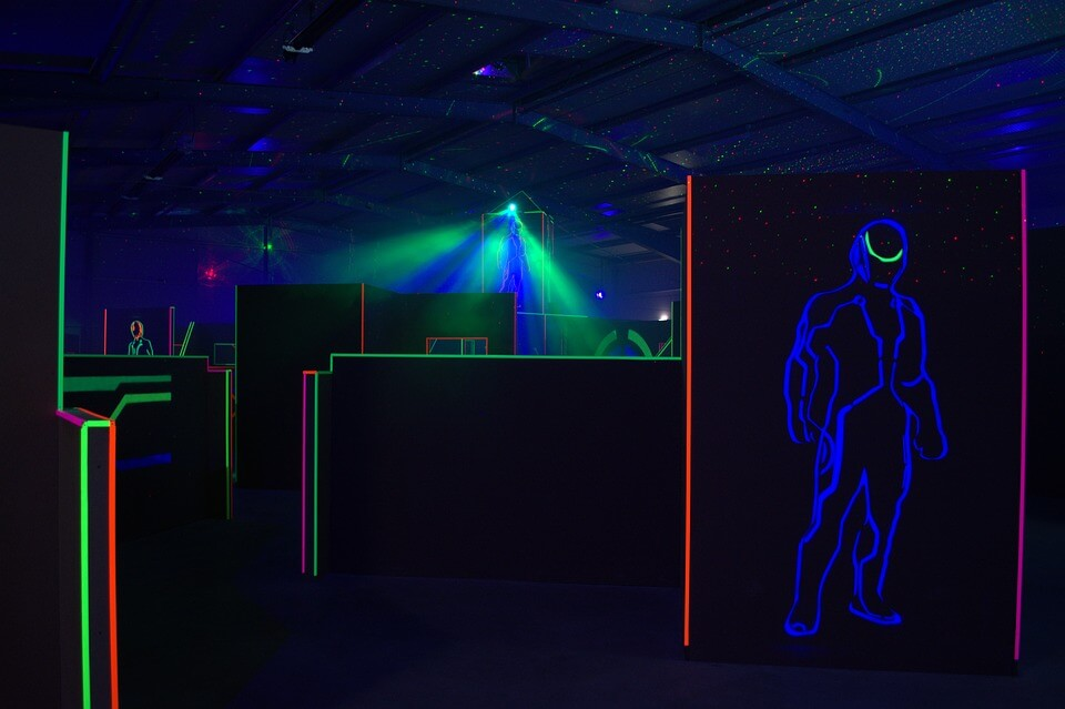 Laser tag is a great activity during corporate or birthday party room rentals - here's why!